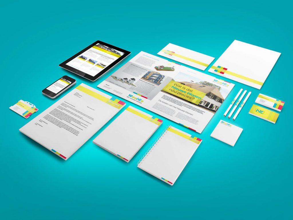 Corporate identity ontwerpen