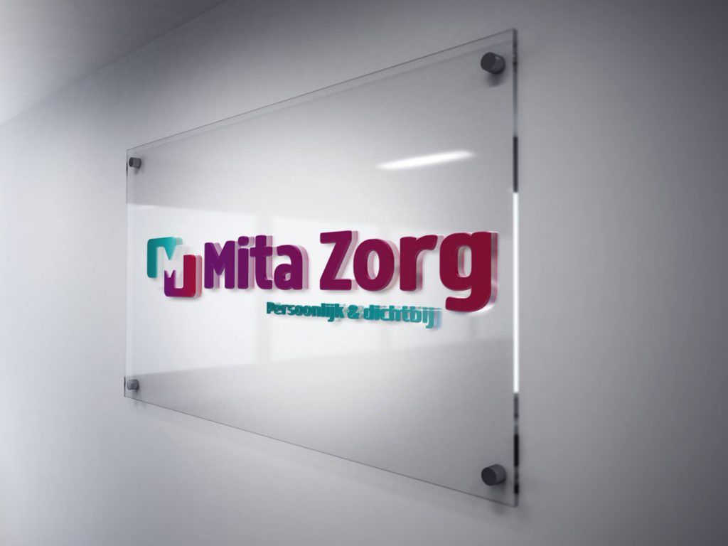 Nieuw logo gevel