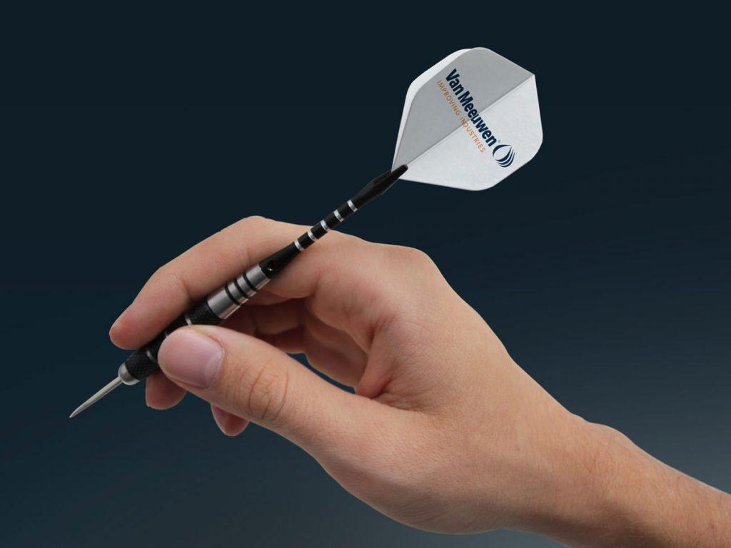 dart flights bedrukken met afbeelding