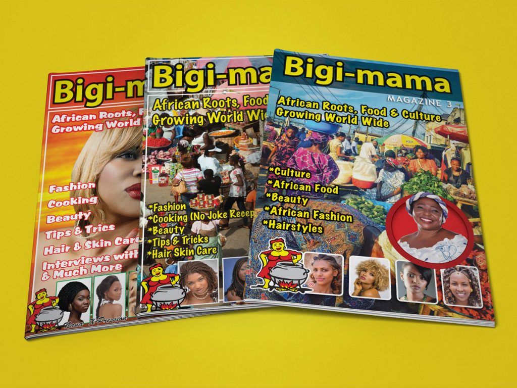 magazine ontwerpen